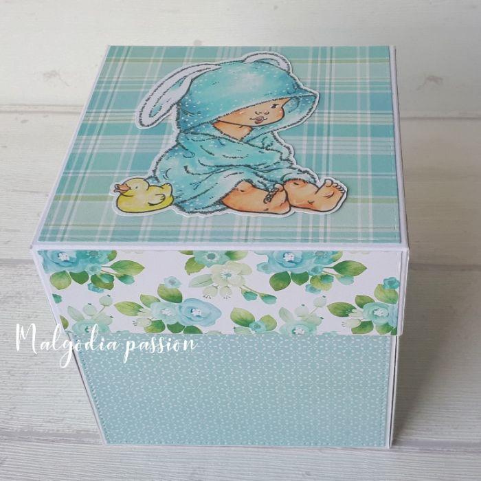 Pudełko exploding box narodziny