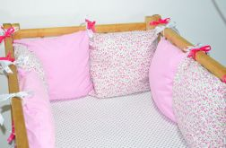 Modułowy ochraniacz do łóżeczka 6 szt N21