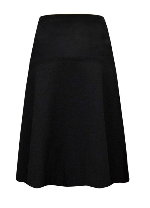 Rozkloszowana spódnia / czarna - PAULINA