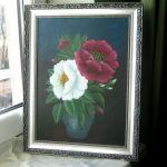 Róże w dzbanie - obraz akrylowy - obraz - kwiaty