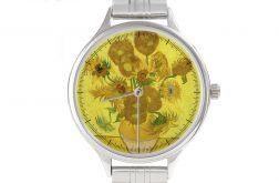 """Zegarek Art z bransoletą """"Słoneczniki"""""""