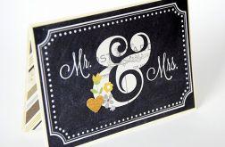 Kartka ślubna inna niż wszystkie;)