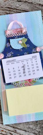 Lodówkowy zapiśnik z kalendarzem 2020 #8