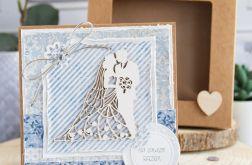 Kartka ślubna w pudełeczku (s01)