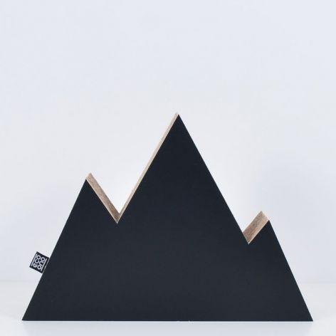 GÓRY dekoracja ecoono | czarny