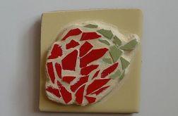 Truskawka z Mozaiki - magnes