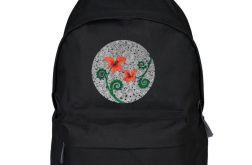 Czerwone kwiaty - plecak