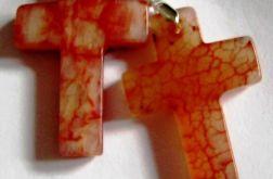Krzyż, krzyżyk z nefrytu. Unisex