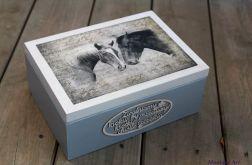 Kufer dla miłośnika koni, prezent
