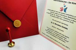 Zaproszenia Ślubne Aurora - Pieczęć Lakowa