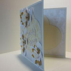 Kartka ślubna - Młodej Parze