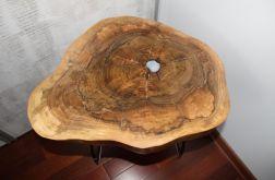Stolik kawowy drewniany orzech