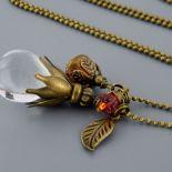 Kropla crystal - naszyjnik