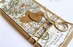 Kartka ślubna dla podróżników 1