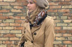 ciepła wiosenna czapka kid mohair &alpaka