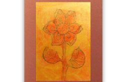 Kwiat 11 - rysunek dekoracyjny do pokoju