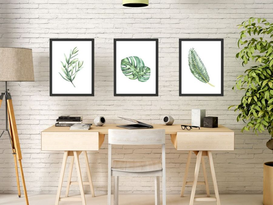 Plakaty liście