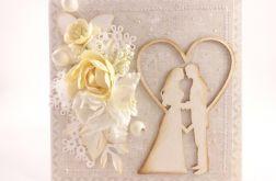 ślubna z Parą Młodą - beż