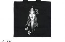 Kwiaty - torba premium