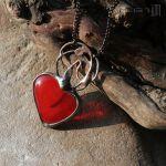 Zalążek uczucia - wisior z sercem