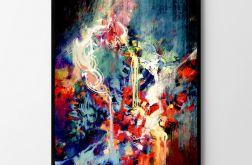 Plakat abstrakcja #1 50X70 B2