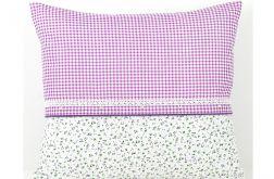 Poszewka na poduszkę w odcieniach lawendy