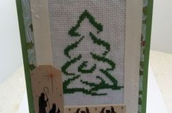 Kartka świąteczna - choinka