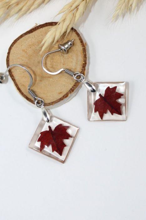 Kolczyki- jesienne liście art.4
