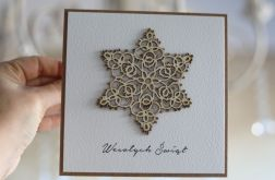 Kartka bożonarodzeniowa handmade 1