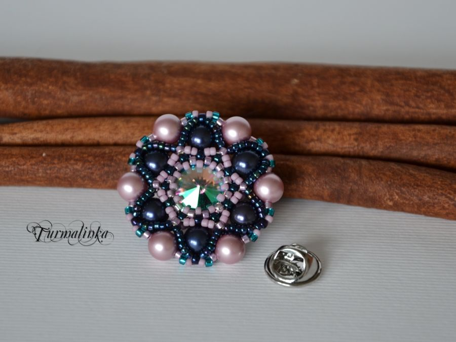 POWDER ROSE & NIGHT BLUE SWAROVSKI