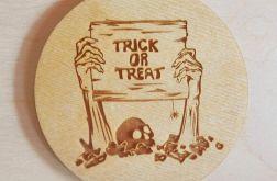 Zestaw x4 Podkładki pod kubek Halloween 5