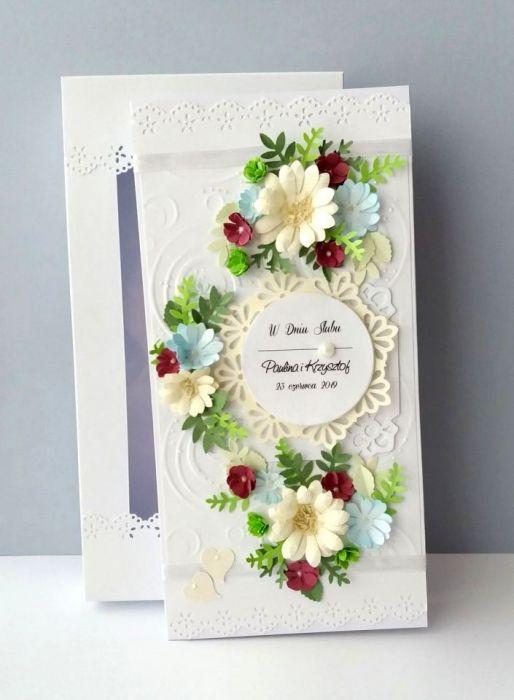 Kartka dla Nowożeńców GIRLANDA