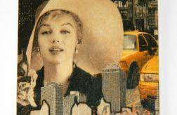 Magnes na lodówkę Marylin Monroe Dla kinomana