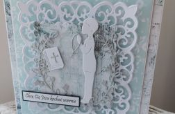 Pamiątka Pierwszej Komunii Świętej Chłopiec