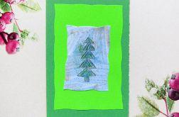 Kartka świąteczna minimalizm nr 66
