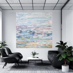 Nowoczesny obraz abstrakcyjny 90x90