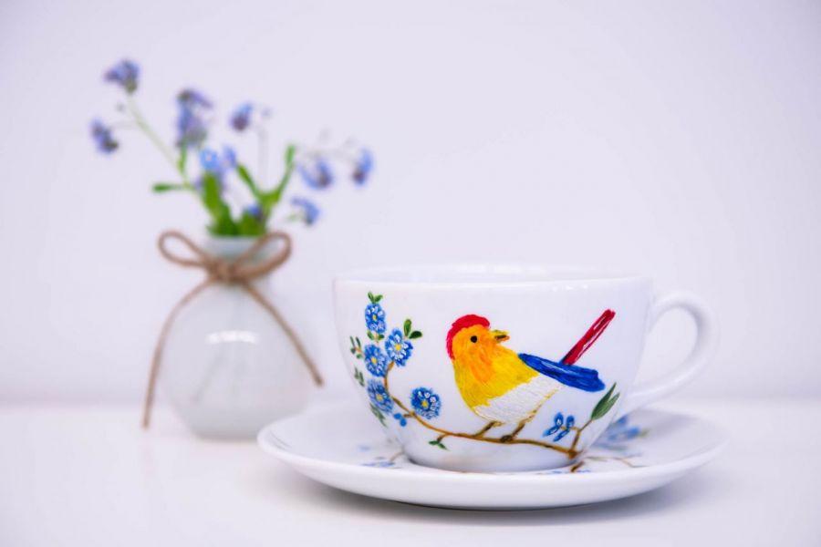 Filiżanka rajski ptak