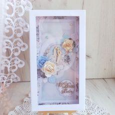 Kartka ślubna DL Precious Moment 1 GOTOWA