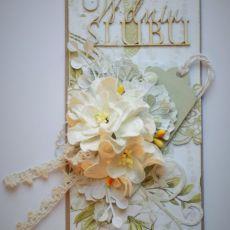 W dniu ślubu kartka DL