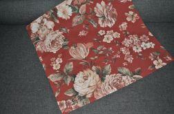 Kwadratowa serweta - pudrowe róże  53 x 53 cm