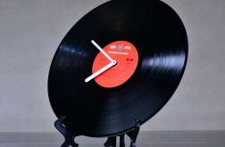 Zegar stojący płyta winylowa winyl retro komi