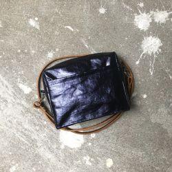 torebka TRINI granat shine - JUSTmade