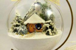 dekoracja bombka przestrzenna zima