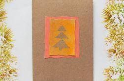 Kartka  świąteczna minimalizm 40