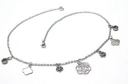 Alloys Collection - Line /pistacje/ choker