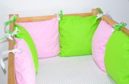 Modułowy ochraniacz do łóżeczka 6 szt N22