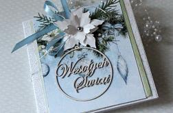 """Kartka świąteczna """"Wesołych Świąt"""" v.1"""