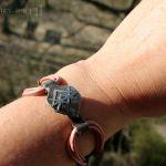 Miłosny sigil dla kobiet - bransoletka z miedzi i skóry