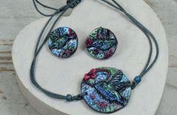 Biżuteria KOLIBER- kolczyki i bransoleta