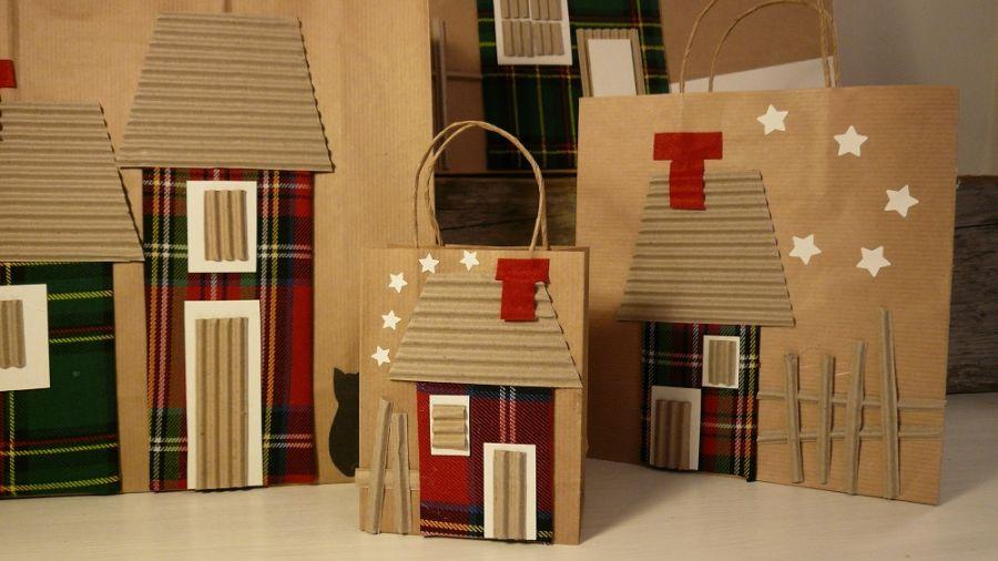 Torebki do pakowania prezentów- 4 sztuki